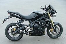 Street Triple 07-12 SP Engineering Carbon Fibre Stubby Moto GP 3-1 Exhaust