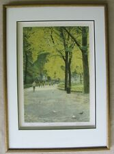 Harold Altman 1984 Central Park I Limited Signed Lithograph New York Listed