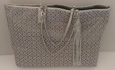 NEW!! Womens Tommy Hilfiger Grey Tote Shopper Handbag