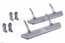 Jazrider Aluminum Side Steps Rock Rail For 1/10 RC Pick Up Crawler Truck Car