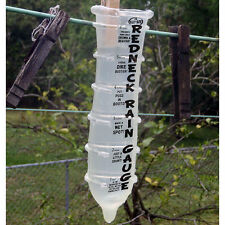 Hill Billy Redneck Rain Gauge Really WORKS rubber condom