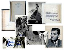 GONE WITH THE WIND 5 Piece Collection Including Superb Signed Portrai... Lot 219