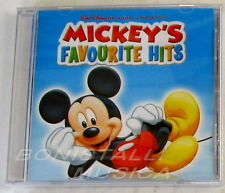 DISNEY MICKEY'S FAVOURITE HITS - SOUNDTRACK - CD Sigillato