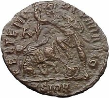 CONSTANTIUS II Constantine the Great son 351AD Ancient Roman Coin Horse i30884