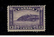 Canada #201 (CA301) Citadel at Quebec, 13c dull violet, MNH, FVF, CV$85.00