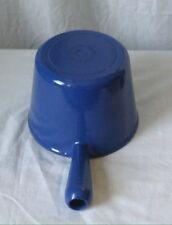 Le Creuset Sauce Pan Pot 1.5 Quart Size Blue Fondue