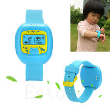Hot Small Mini Dual GPS GSM Position GPRS Tracker Watch MIC SOS For Child / Old