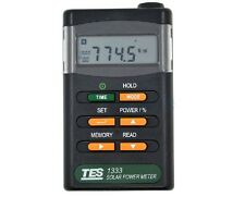 TES-1333 Solar Power Meter Digital Radiation Detector Solar Cell Energy Tester