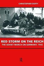 Red Storm on the Reich by Christopher Duffy (1999, Paperback)
