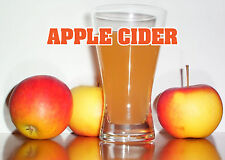 "APPLE CIDER 14""x10"" STORE RETAIL FOOD COUNTER/WALL SIGN"