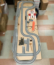 105pc Vintage TYCO 440-X2 Turbo Train HO Slot Car RACE SET TRACK PARTS Unused A+