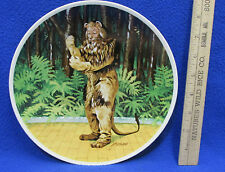 Wizard of Oz Collectors Plate Cowardly Lion If I Were King J Auckland Knowles