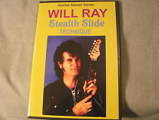 WILL RAY - STEALTH SLIDE DVD VIDEO -Considered the Bible for Learning Mini-Slide