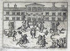 WIEN 1666 PFERDE-BALLETT MARGARETA THERESA HORSE BALLET ECUESTRE VIENNA BALLETTO