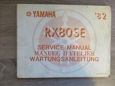 Yamaha Istruzioni per la manutenzione RX80 SE ´82 12N manuale di servizio