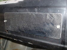 ESCORT RS MK2 HEATER CONTROL PANEL BLANKING PLATE CARBON FIBRE BRAND NEW