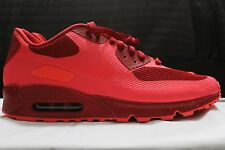 New Nike iD Air Max 90 Hyperfuse Solar Red Valentines SIZE Mens Sz 11 653603-993