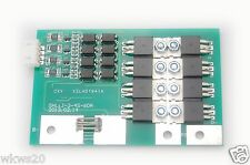 4 cells 40A 60A peak w/balancing LiFePo4 Lithium ion phospate Protection PCB 12V