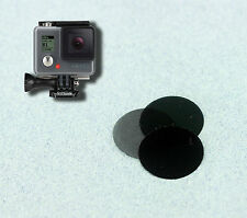 Neutral Density filter ND 3 x2, 6 x2, 9 x2 camera GoPro HD 1080p Hero 2 ONLY!!