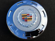 "NEW 1PC  2007-2014 CADILLAC ESCALADE 22"" WHEELS CHROME CENTER HUB CAP COLOR LOGO"