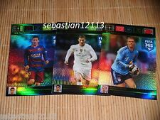 PANINI ADRENALYN XL FIFA 365 - Top Master complete set_Messi_Ronaldo_Neuer