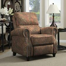 ProLounger Paisley Push Back Recliner Chair Living Room Seat Furniture Home
