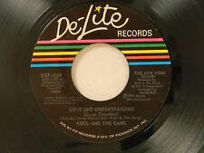 Kool And The Gang 45 LOVE AND UNDERSTANDING / SUNSHINE AND LOVE~DeLite M-