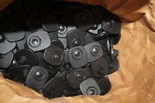 Lot de 280 Badges noirs  avec  Clous Pour Portique Anti-Vol