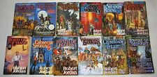 Robert Jordan lot of 13 PBs books 1-11, 13 & New Spring in the Wheel of Time ser