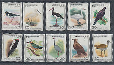 Korea Sc 1015-1024 MNH. 1976 Birds, complete set of 10, VF
