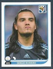 PANINI-SOUTH AFRICA 2010 WORLD CUP- #108-ARGENTINA-SERGIO ROMERO