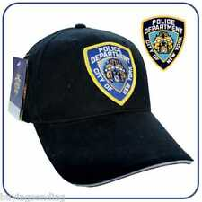 UK SELLER BRAND NEW YORK CITY LICENSED NYPD POLICE DEPARTMENT CAP BLACK COP HAT