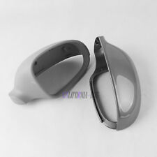 Primed Pair Rearview Wing Mirror Cover Cap LH + RH For VW Jetta Golf MK5 Passat