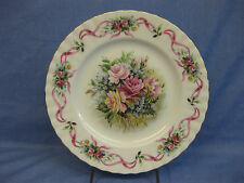 Royal Albert Plate Pink Roses ~Happy Birthday Plate ~ Second Edition ~Bone China