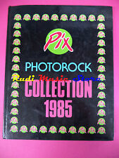 BOOK LIBRO PIX PHOTOCOLLECTION 1985 springsteen wham prince GALLO no cd lp dvd