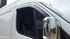 MERCEDES BENZ SPRINTER / VW CRAFTER WIND & RAIN DEFLECTOR 06 ONWARDS