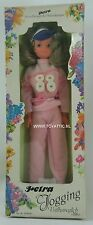 Petra Barbie sized clone doll from Plasty jogging in original package