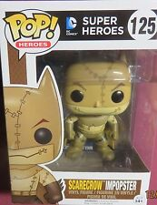"NEW POP HEROES, FROM, ""DC SUPER HEROES"", SCARECROW IMPOPSTER, #125, FIGURE"
