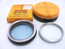 Vintage Kodak Step Up Ring V-VI & Kodak Series VI Portra Lens 1+