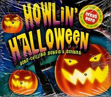 HOWLIN' HALLOWEEN: 1 HOUR OF HORROR MOVIE THEME SONGS & SCARY SOUNDS (2008, CD)