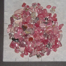 RHODOCHROSITE 4-18mm tumbled 1/4 lb bulk stones pink rosy unsorted A to B Grade
