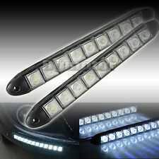 Universial Daytime Running Light 2 x 9 LED DRL Daylight Head Lamp Car Auto 12V