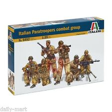 ITALERI 1/35 6492 ITALIAN PARA TROOPERS COMBAT GROUP MODEL KIT