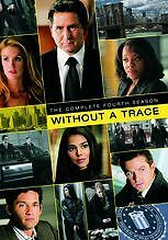 WITHOUT A TRACE: THE COMPLETE FOURTH SEASON Region Free DVD - Sealed