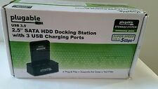 Plugable Storage System 2.5 SATA III Hard Drive Docking Station With Built-in