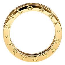 bvlgari bzero1 1band gold ring an852260 in us size 9