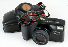 CANON SURE SHOT ZOOM CAMERA, RARE VINTAGE IN FITTED CASE