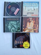 ASSORTED VINTAGE PC VIDEO GAMES –DIABLO -DUKE NUKEM -WOLFENSTEIN