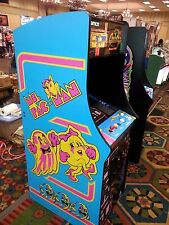 "New commercial  Ms Pac man Galaga upright video arcade game 27"" LED LCD monitor"