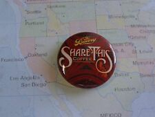 BEER BUTTON Pinback ~*~ The BRUERY Share This Coffee ~*~ Placentia, CALIFORNIA